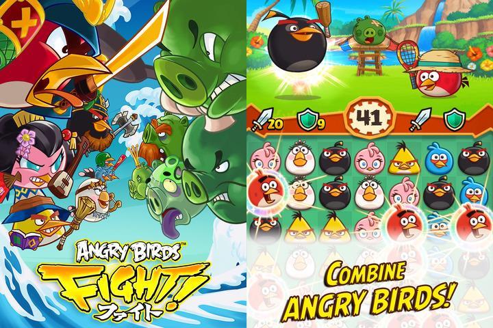 angry-birds-fight-1 25 Melhores Jogos Grátis para iPhone e iPad - 1º Semestre de 2015