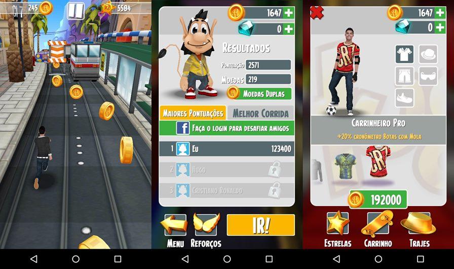 cristiano-ronaldo-hugo-game-android-ios Cristiano Ronaldo e Hugo chegam para 'trollar' Subway Surfers
