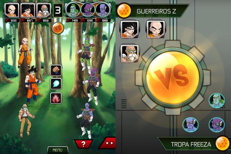 "dragon-ball-z-android-renascimento-de-freeza- Dragon Ball Z: Jogo do novo filme ""O retorno de Freeza"" chega ao Android"