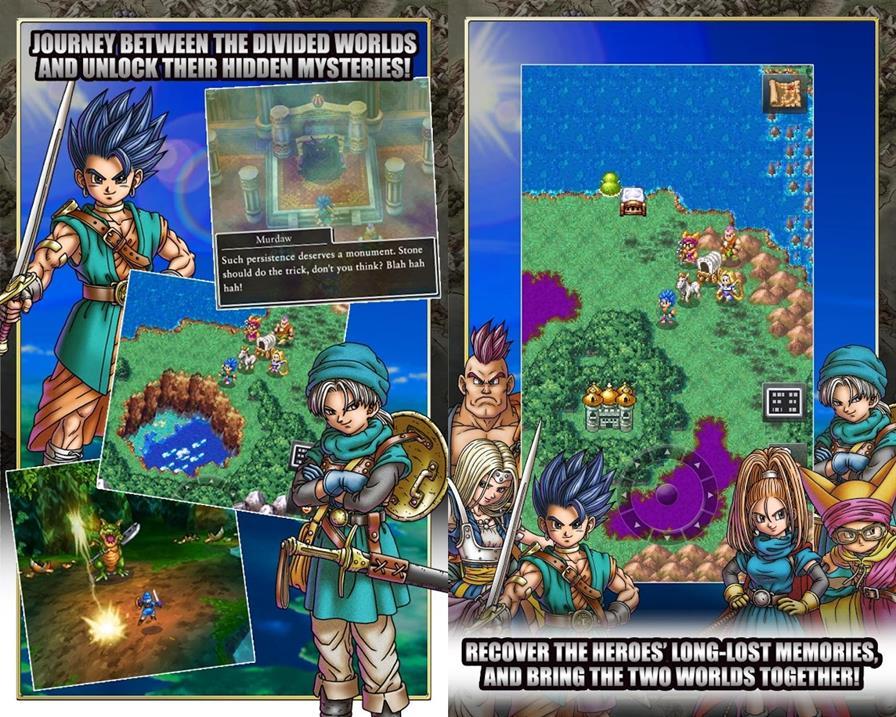 dragon-quest-6-android-ios Com Dragon Quest VI, Square Enix continua o legado dos 'JRPGs' no Android e iOS
