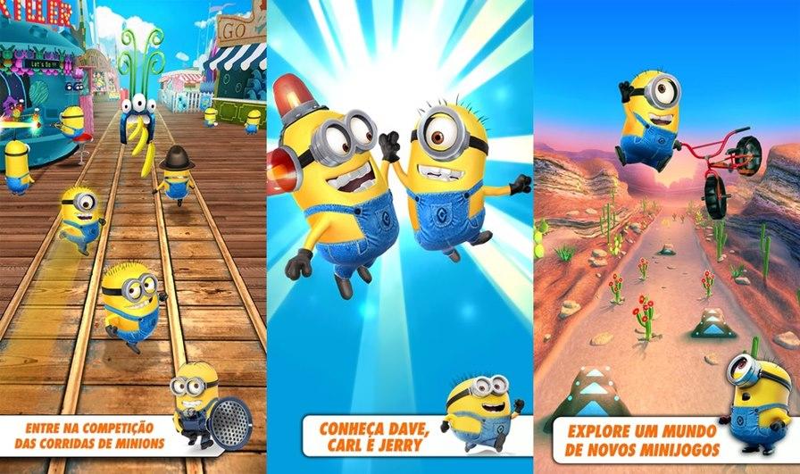 minions-rush-multiplayer Gameloft lança atualização sensacional para Minion Rush: multiplayer online!