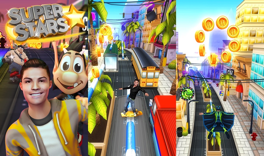ronald-cr7-hugo-super-star-1-android-ios Cristiano Ronaldo e Hugo chegam para 'trollar' Subway Surfers