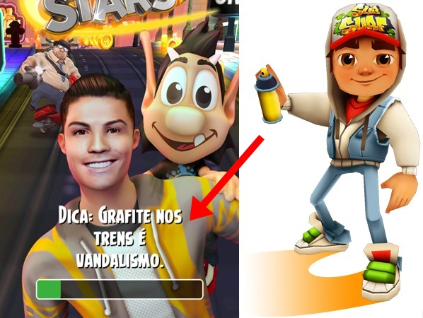 ronald-cr7-hugo-super-star-4-horz Cristiano Ronaldo e Hugo chegam para 'trollar' Subway Surfers