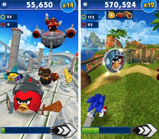sonic-dashangry-birds-epic-r471x Melhores Jogos para Android da Semana #22 - 2015