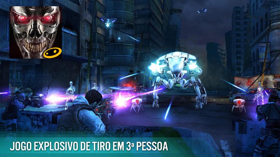 terminator-genesis-revolution Jogo Grátis para Android: Terminator Genisys: Revolution