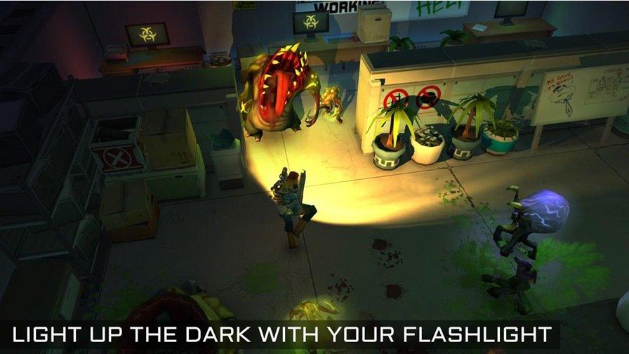 xenowerk-android-ios Xenowerk é um jogo de tiro com bons gráficos, mas experiência repetitiva