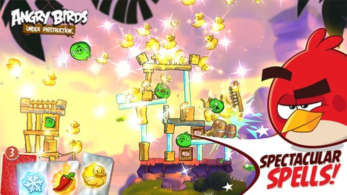 angry-birds-2-Android-ios-1 Angry Birds 2 parece ser mesmo Angry Birds Under Pigstruction