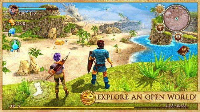 beast-quest 25 Melhores Jogos de Mundo Aberto OFFLINE do Android e iOS