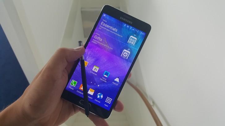 galaxy-note-4 Confirmado! Galaxy Note 5 será um monstro com 4 GB de RAM!