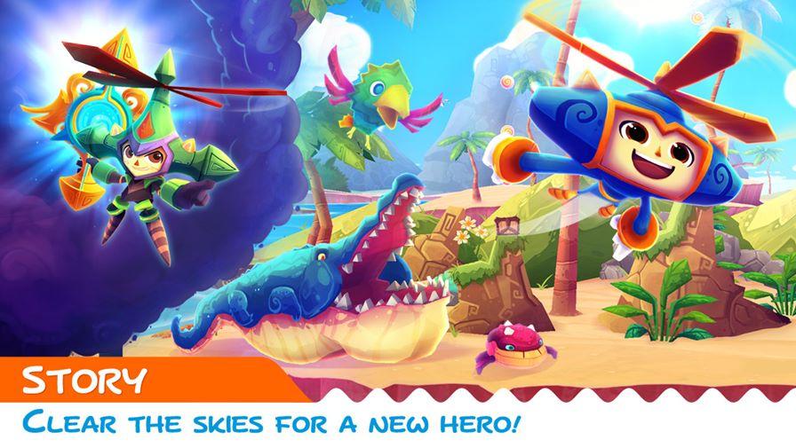 heroki-ios-1 Heroki, game da SEGA com estilo clássico dos anos 90 chega ao iOS