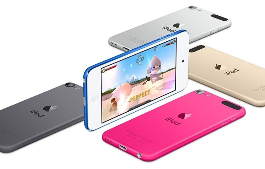 ipod-touch-6-geracao O iPod Touch ganha versão renovada com chip A8 e 1GB de RAM