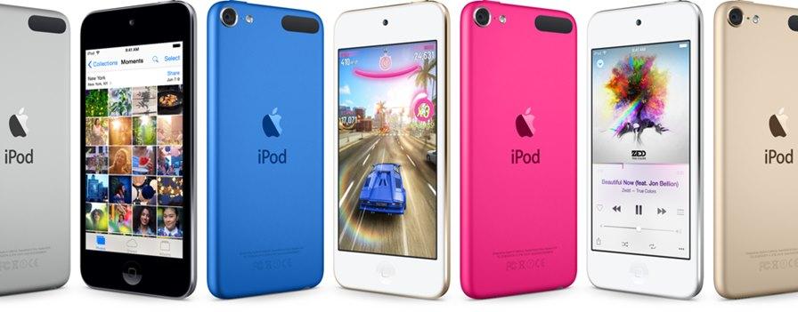 ipod-touch-l-201507 O iPod Touch ganha versão renovada com chip A8 e 1GB de RAM