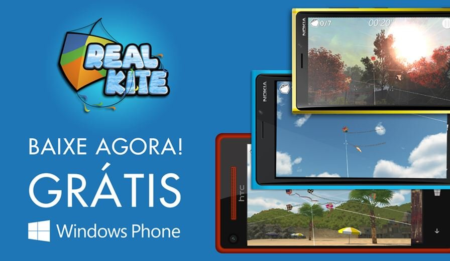 real-kite-windows-phone Jogo de pipas Real Kite chega ao Windows Phone