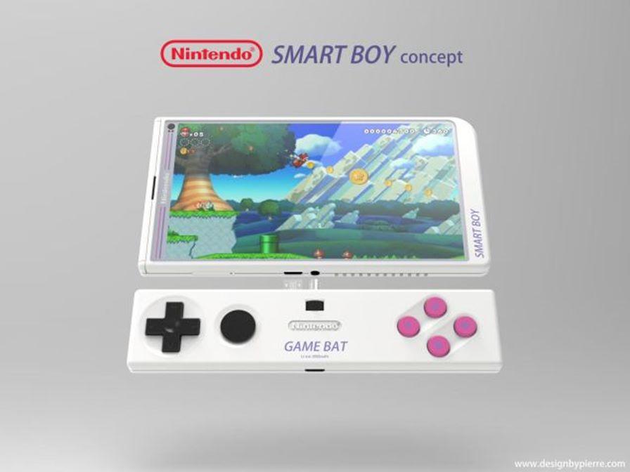 smartboy-nintendo-2 Smart boy: Fã cria conceito incrível para um smartphone da Nintendo
