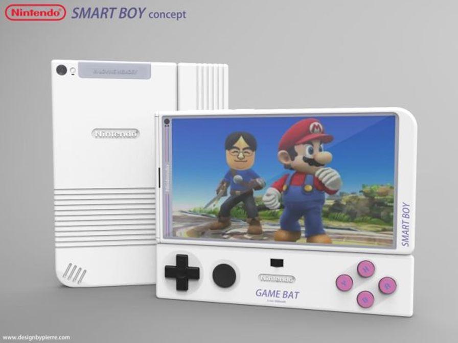 smartboy-nintendo-4 Smart boy: Fã cria conceito incrível para um smartphone da Nintendo
