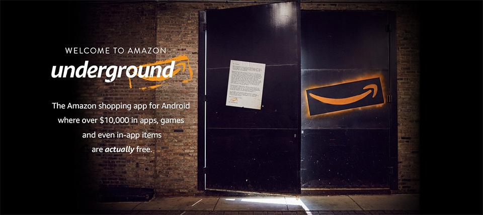 "Amazon-Underground-Android-App Amazon vai desativar programa de jogos gratuitos ""Actually free"""
