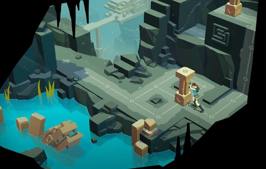 Lara-croft-Go Lara Croft Go e outros jogos incríveis em promoção de US$ 0,99 no Android