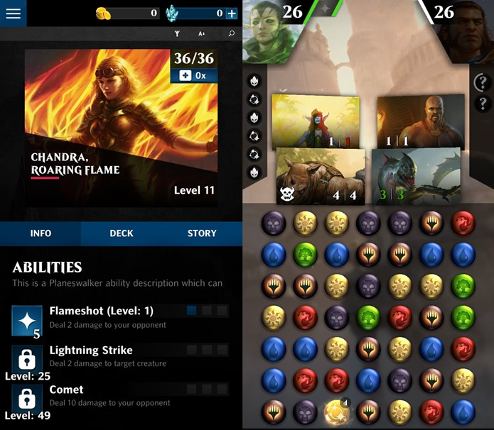 Magic-the-Gathering-Puzzle-Quest-1-horz Magic The Gathering vai ganhar seu próprio Puzzle Quest para Android e iOS