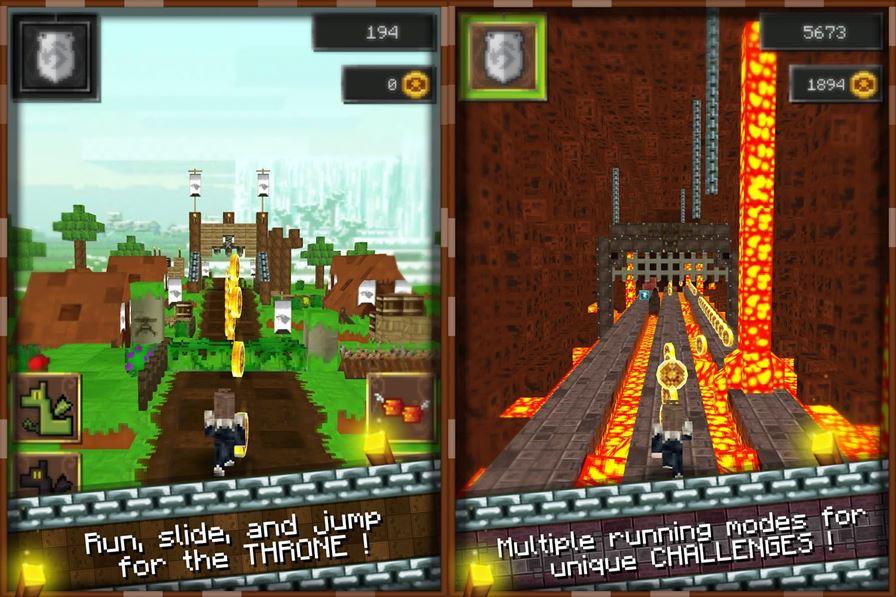 RunCraftThrones Jogos de Minecraft: 10 games para Android parecidos ou inspirados no clássico