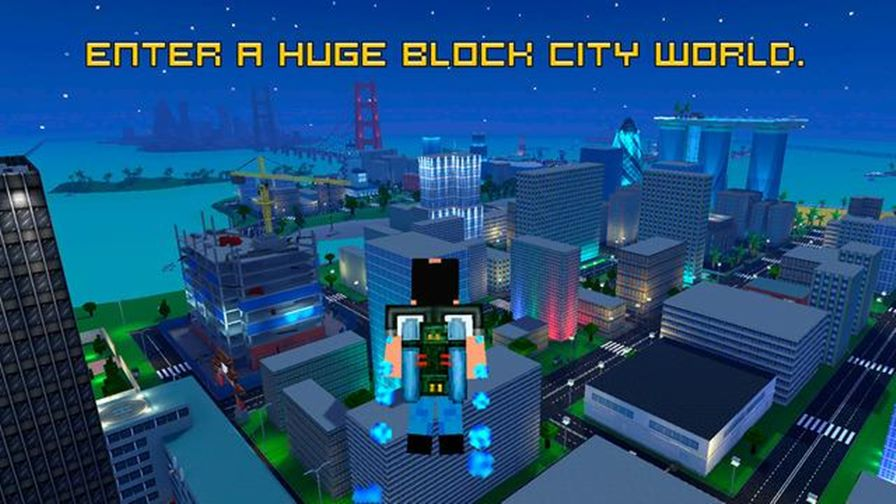 blocky-city-wars Android: 25 Jogos Offline Para Baixar Grátis #3