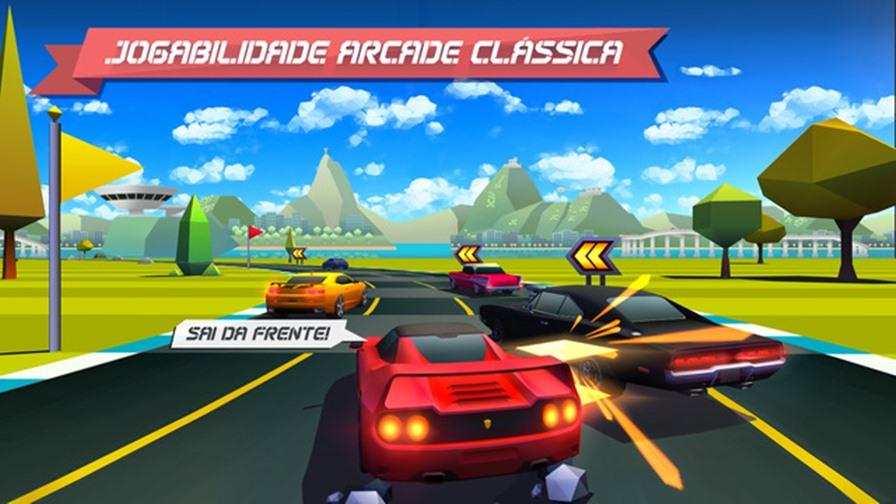 horizons-chase-top-gear Horizon Chase: Sucessor de Top Gear chega a App Store acelerando