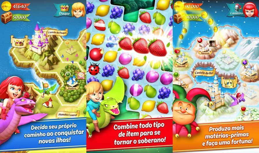 king-craft-ios Melhores Jogos para iPhone e iPad da semana (21-08-2015)