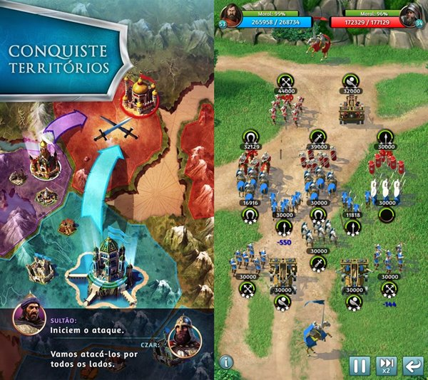 march-of-empires March of Empires: Novo jogo de estratégia da Gameloft (Android, Windows Phone e iOS)