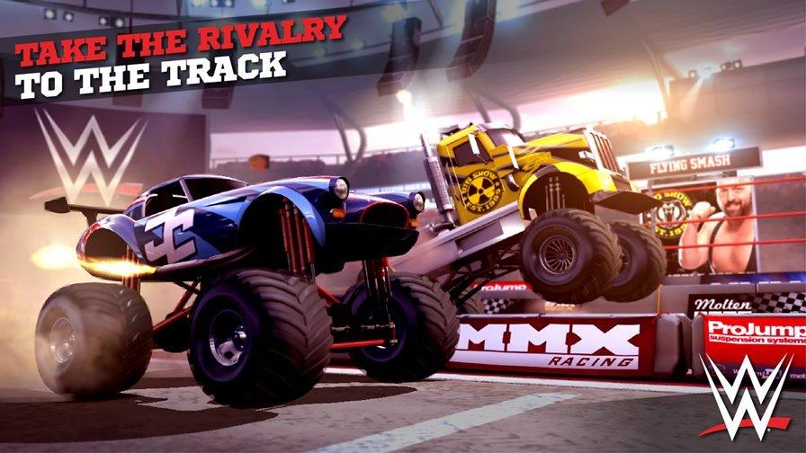 mmx-racing-wwe 25 Melhores Jogos Offline Grátis para Android #4