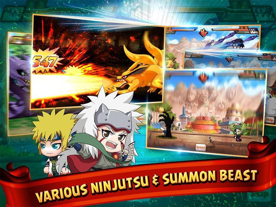 ninja-heroes-4 Naruto: Conheça um RPG para Android inspirado no Ninja