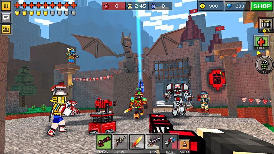 pixel-gun-minecraft Jogos de Minecraft: 10 games para Android parecidos ou inspirados no clássico