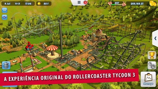 rollercoaster-tycoon-3 Melhores Jogos da semana para iPhone e iPad - 30-08-2015