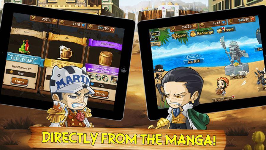 strong-world-d-1 One Piece:  Strong World D é um RPG inspirado no clássico anime (Android e iOS)