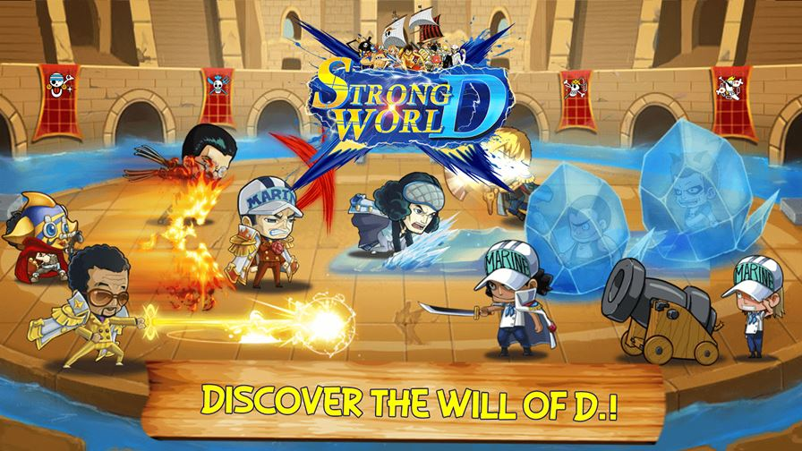 strong-world-d One Piece:  Strong World D é um RPG inspirado no clássico anime (Android e iOS)
