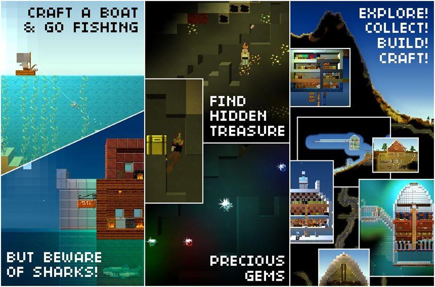 theblockreads Jogos de Minecraft: 10 games para Android parecidos ou inspirados no clássico