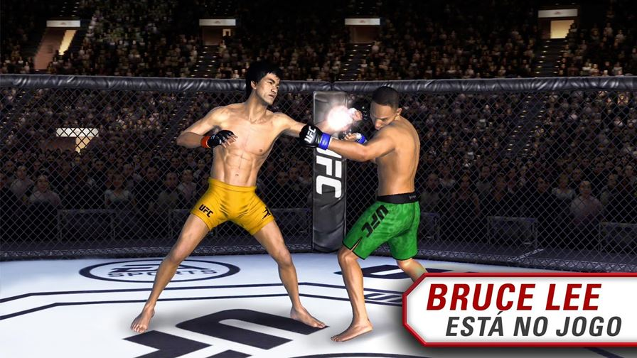 ufc-mobile-bruce-lee O lendário Bruce Lee é o novo lutador de UFC Mobile