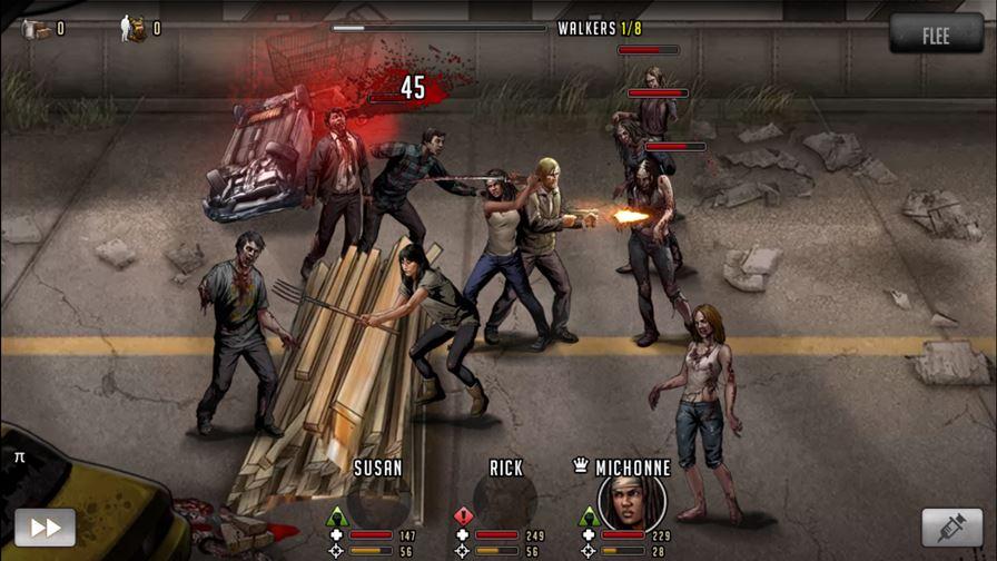 walking-dead-sobrevivencia Melhores Jogos para Android Grátis - Agosto de 2015