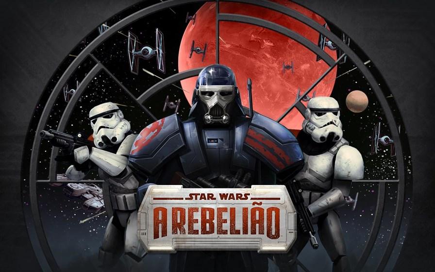 Star-wars-rebeliao Star Wars Uprising (A Rebelião) chega em português ao Android e iOS