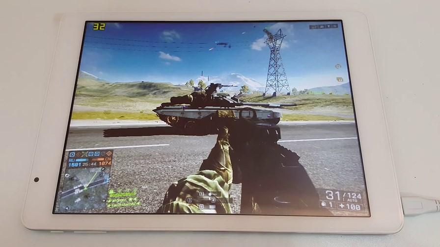 battlefield4-em-tablet-windows-10 Veja um tablet com Windows 10 rodando Battlefield 4