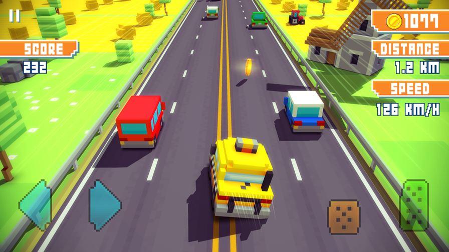 blocky-highway-android Melhores Jogos para Android da Semana #32 – 2015