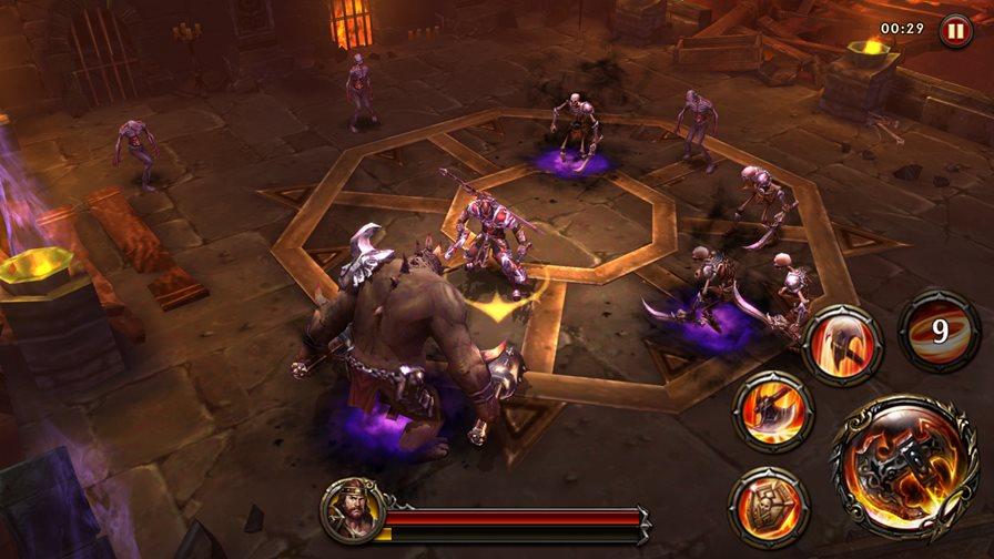"""eternity-warriors-4-5 Eternity Warriors 4 chega ao Android e iOS com jeitão de """"God of War"""""""