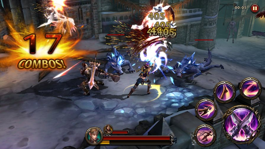 "eternity-warriors-4-8 Eternity Warriors 4 chega ao Android e iOS com jeitão de ""God of War"""