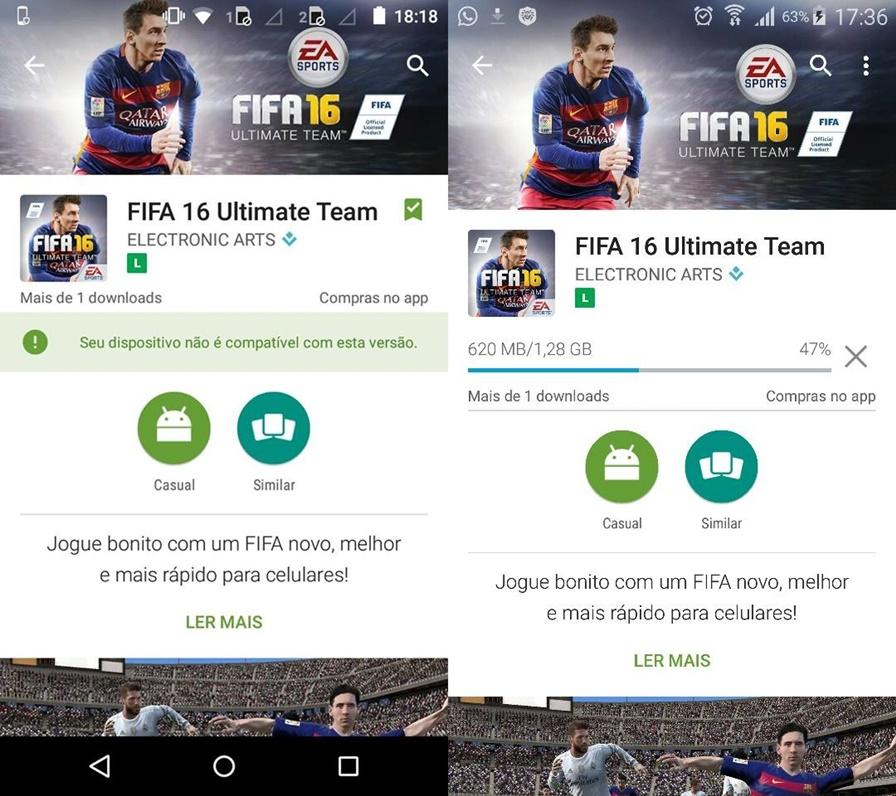 fifa-16-como-deixar-jogo-compativel-android FIFA 16 para celular: Veja como deixar o jogo compatível no Android