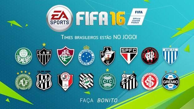 fifa16-android-ios-times-brasileiros FIFA 16 Ultimate Team chega ao Android com Narração em Português! Baixe agora!