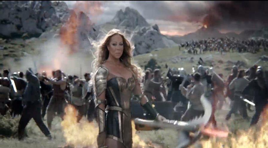 game-of-war-maria-carey Mariah Carey é a nova garota propaganda de Game of War (Android e iOS)