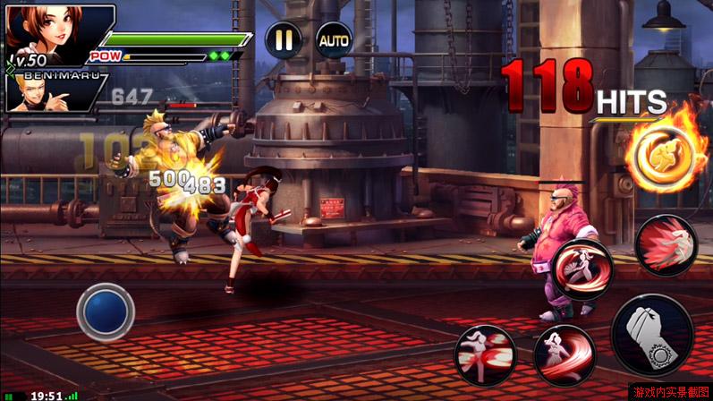 kof97online-android-ios-3 The King of Fighters '97 OL: novo Jogo chinês de KOF está disponível para Download no Android
