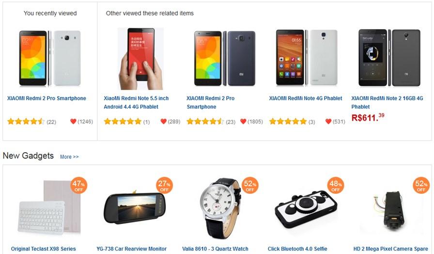 loja-gearbest-celular-redmi-xiaomi Como comprar celulares da Xiaomi (RedMi 4, RedMi Note 2 e RedMi 2 Pro)