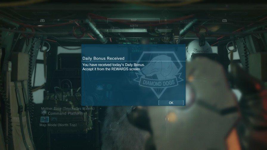 mgs-v-mobile-daily-bonus Metal Gear Solid V é um jogo para celular?