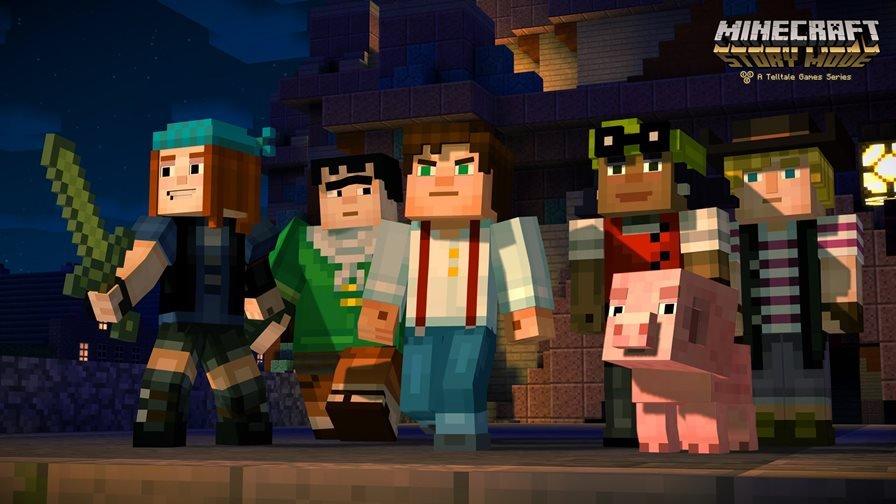minecraft-store-mode Minecraft: Story Mode chega aos celulares em outubro mas pode decepcionar a garotada