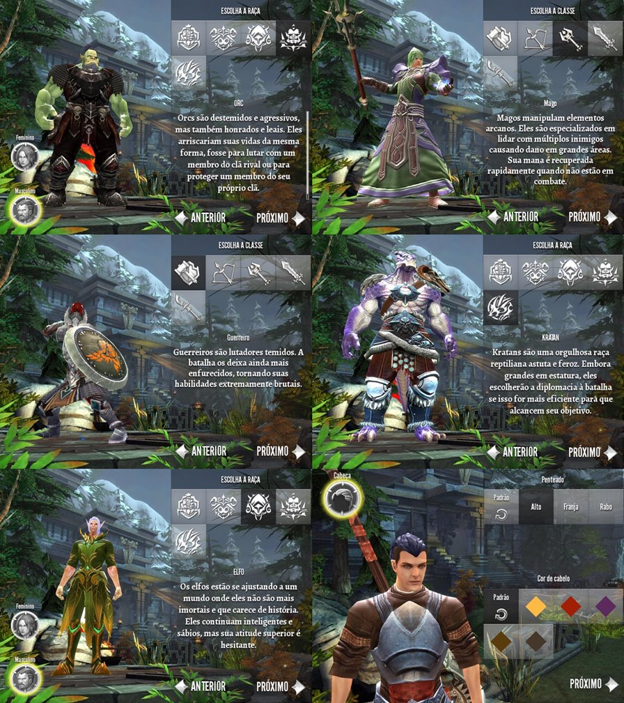 order-chaos-2-redemption-2-classes Preview: Jogamos Order & Chaos 2, confira nossas impressões