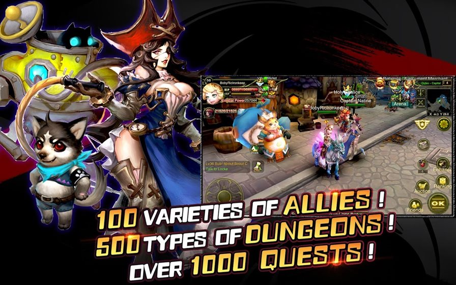 rise-of-immortals Melhores Jogos para Android Grátis - Agosto de 2015